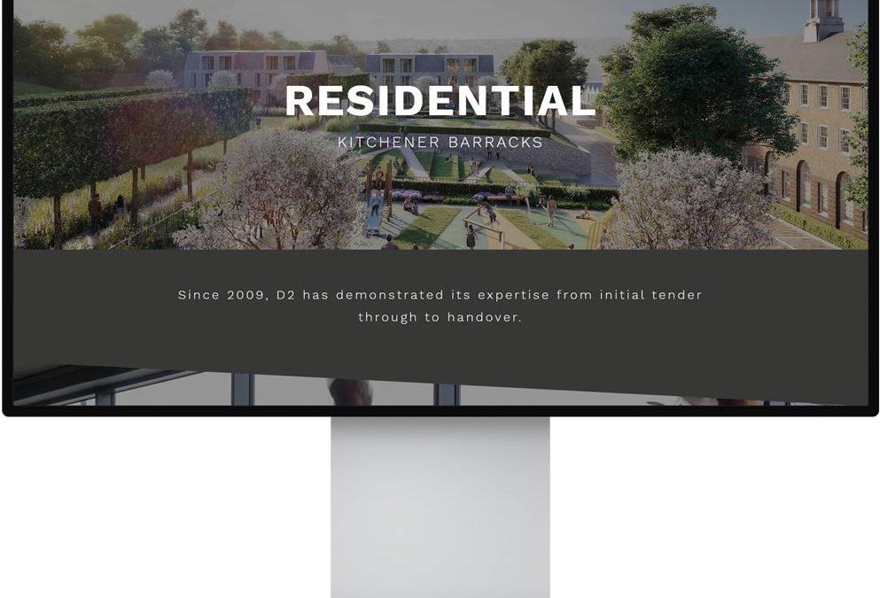 D2 Electrical Website Design