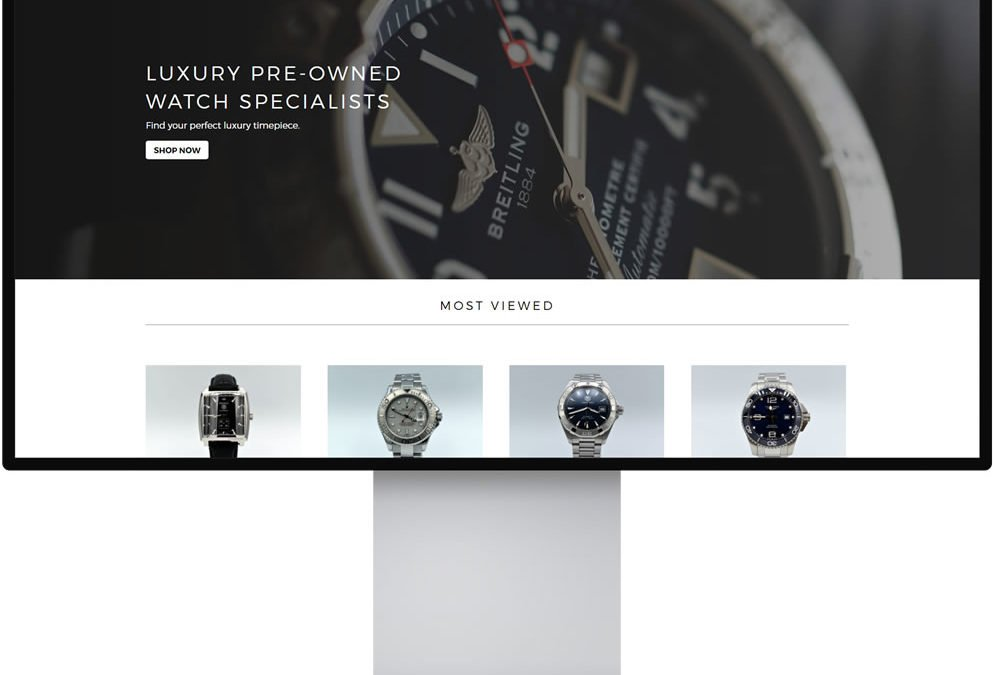 That Watch E-Commerce Website Design