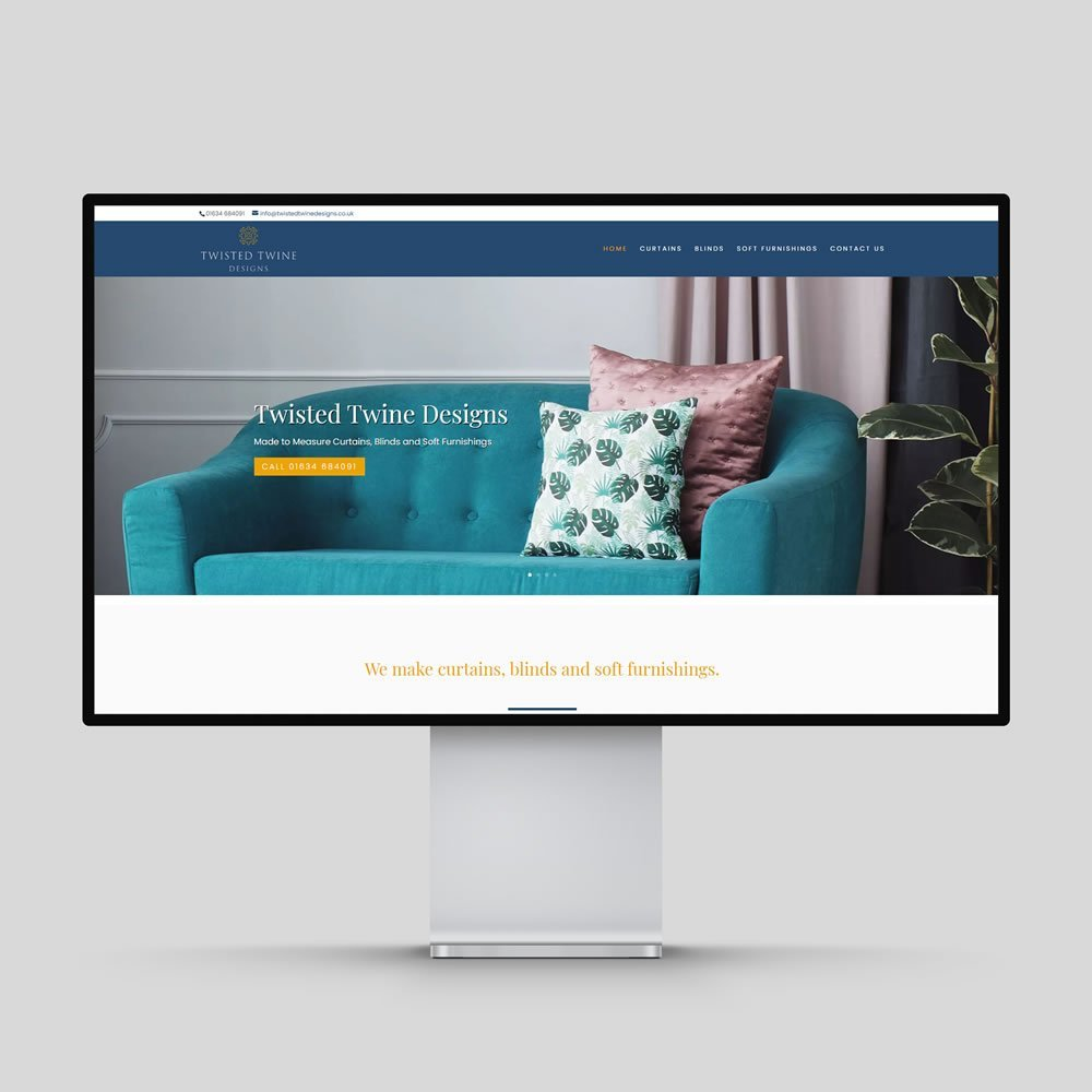 Twisted Twine Designs Website Design Rochester Medway Kent