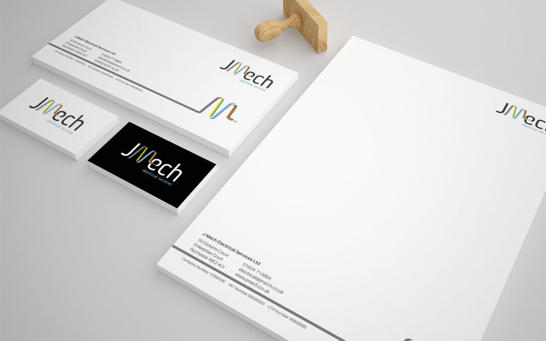 J-Mech Stationery Design